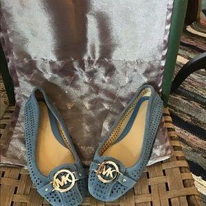 Michael Kors blue shade shoes